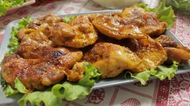 piletina sa puno zacina
