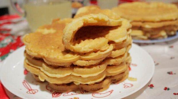 bakin kolac galete wafle